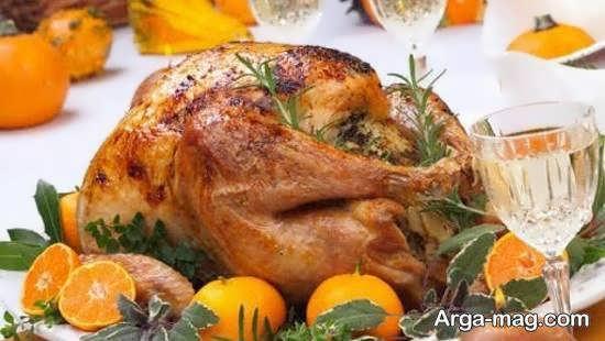 ایده هایی ناب و جدید از تزیین مرغ برای زیباسازی غذا