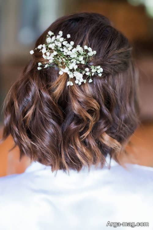 آرایش مو زیبا برای عروس