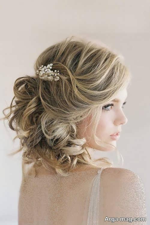 آرایش مو برای عروس