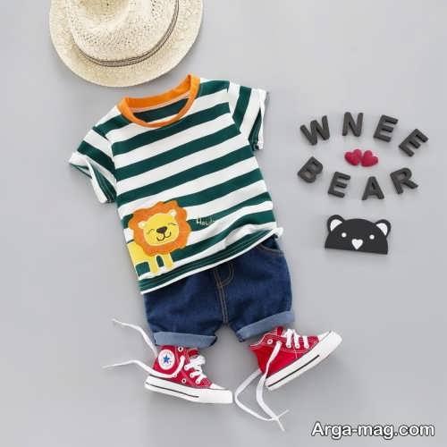 لباس برای کودک زیر دو سال