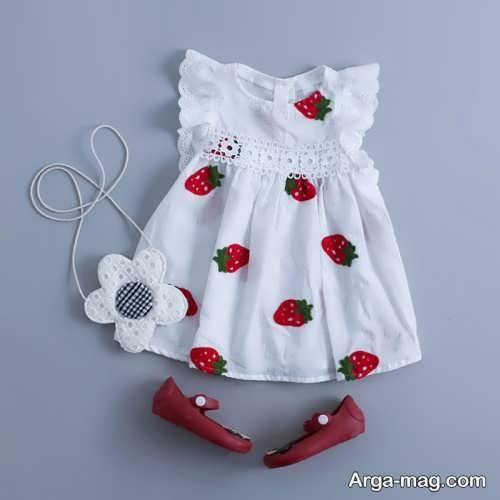 طرح لباس برای کودکان زیر دو سال