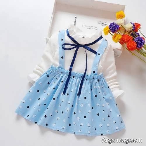 طرح لباس کودک زیر دو سال