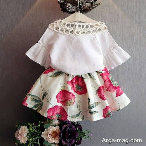 لباس دخترانه زیر دو سال