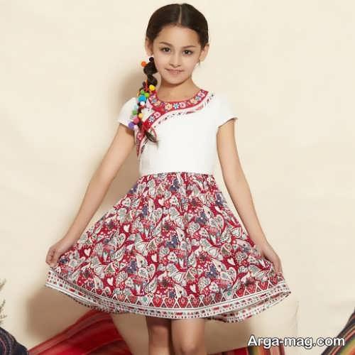 لباس برای کودک زیر ده سال