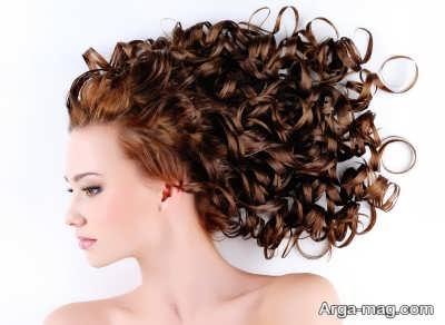 مراقبت از موهای فرفری و مجعد