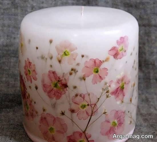 ایده هایی لاکچری و شیک از تزینن شمع به وسیله ی دستمال کاغذی