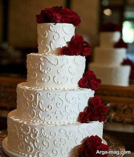 تزیین کیک با گل رز با روش های متفاوت و خلاقیت های زیبا