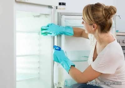 روش های رفع زردی درون یخچال