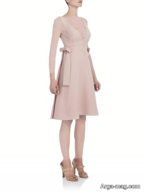 لباس مجلسی زنانه پاپیون دار