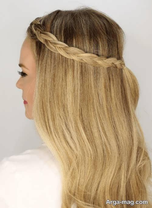 مدل موی آسان و ساده برای موهای بلند زنانه و دخترانه
