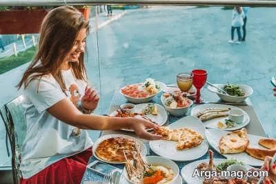 عادات غذایی در کشور های مختلف