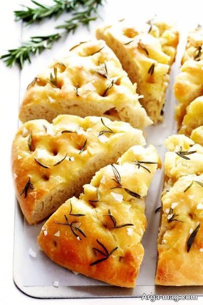 طرز تهیه نان فوکاسیا به چه صورت است؟