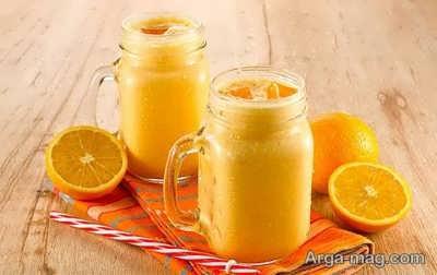 آشنایی با طرز تهیه اسموتی زغال اخته و لیمو