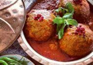 آشنایی با طرز تهیه هلو کباب