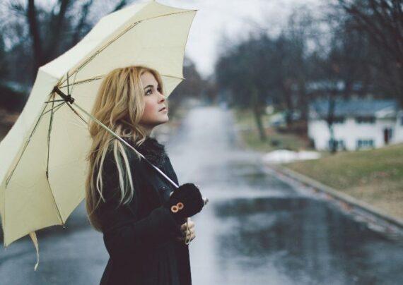 آرایش در روزهای بارانی