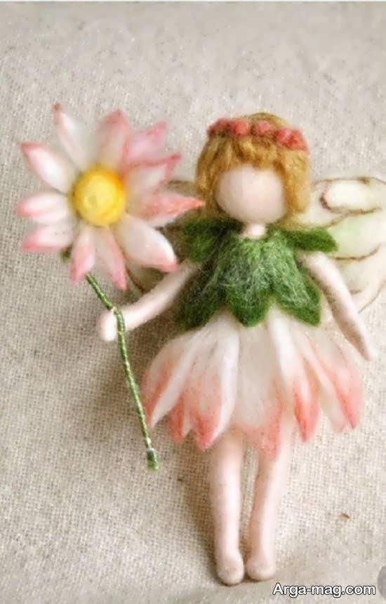 طرز ساختن عروسک کچه ای به شکلی زیبا