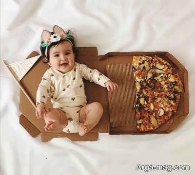 جملاتی برای ماهگرد نوزاد