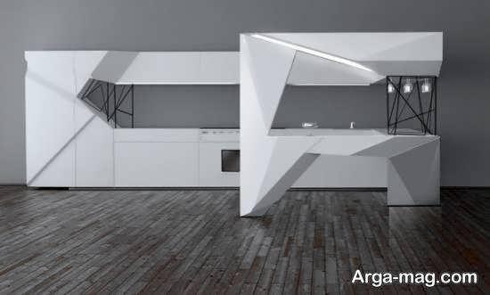 مجموعه ای زیبا و دلنشین از دیزاین منزل به سبک اوریگامی