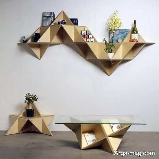 ایده هایی خاص و خواستنی از دکوراسیون به روش اوریگامی