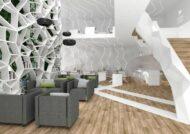 طرح هایی شیک از دکوراسیون منزل به سبک اوریگامی