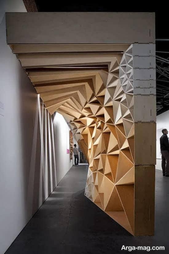 گالری زیبایی از دیزاین های خانه به سبک اوریگامی