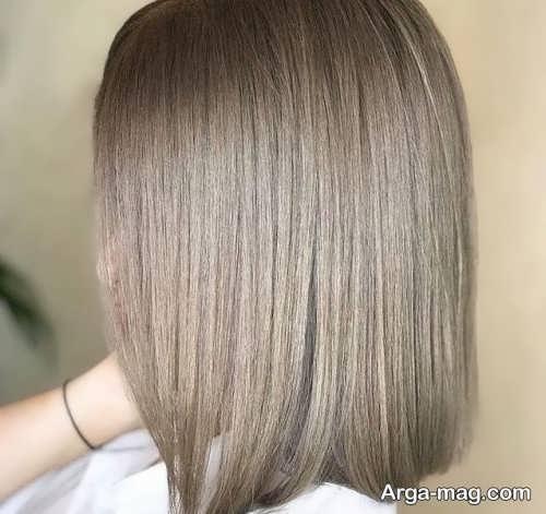 رنگ مو مرواریدی روشن