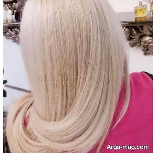 رنگ مو مرواریدی