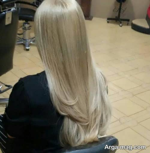 رنگ مو روشن مرواریدی