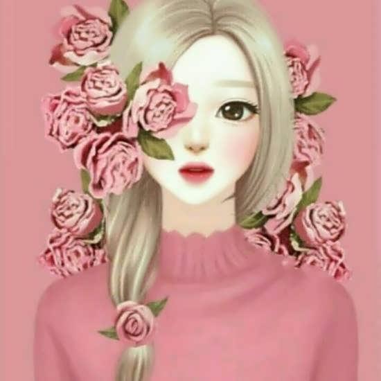 عکس پروفایل صورتی دخترانه با انواع طرح های فانتزی و جذاب