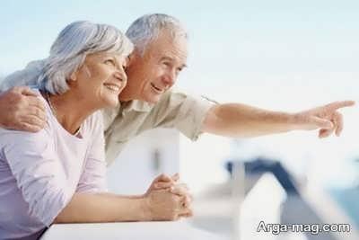 ازدواج دوباره در پیری و کهنسالی