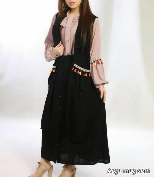 مدل سارافون دامن