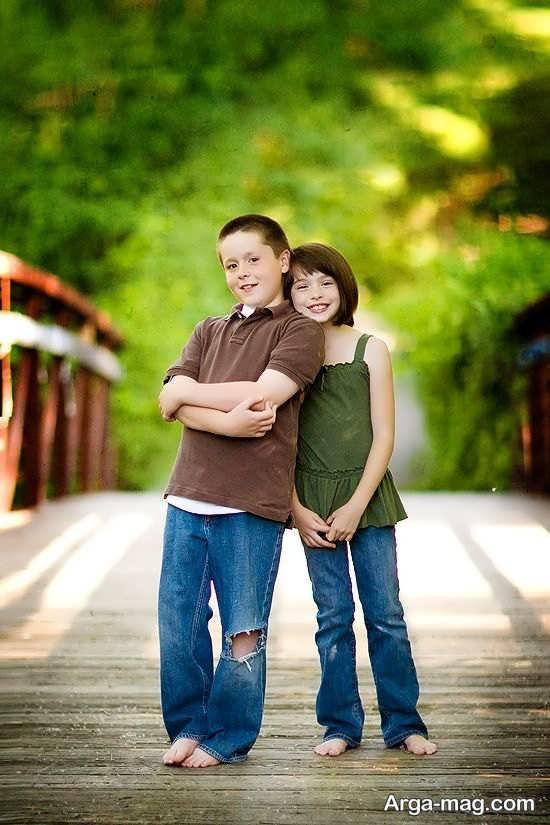 نمونه فیگور باحال خواهر و برادر