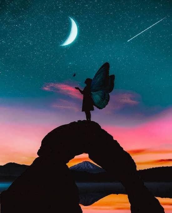 ایده هایی ناب و احساسی از عکس پروفایل آسمان برای شبکه های اجتماعی