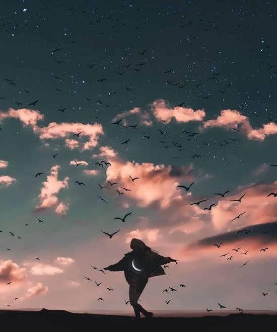 گالری زیبایی از عکس پروفایل آسمان برای شبکه های مجازی
