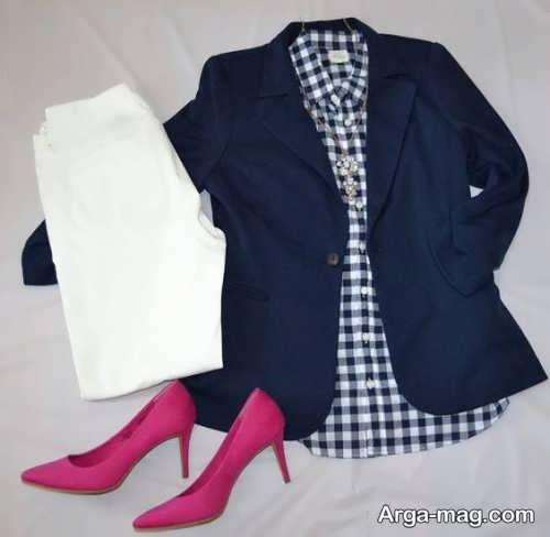 ست لباس چهارخانه زنانه و مردانه با انواع استایل های شیک و جذاب