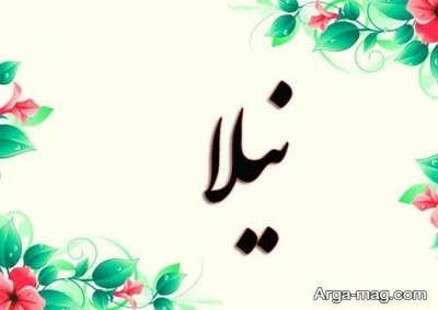 معنای نام زیبای نیلا