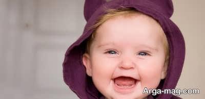 معنای خنده نوزاد برای والدین