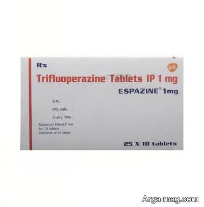 آشنایی با عوارض دارویی قرص تری فلوپرازین