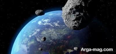 شکل مداری دنباله دار ها با سیارک ها متفاوت است