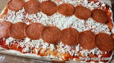 پیتزا آبنباتی