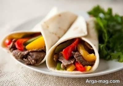 روش تهیه فاهیتا گوشت در خانه