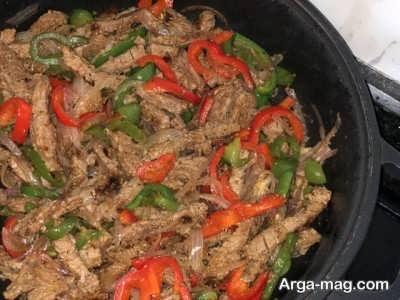 طرز تهیه فاهیتا گوشت در منزل