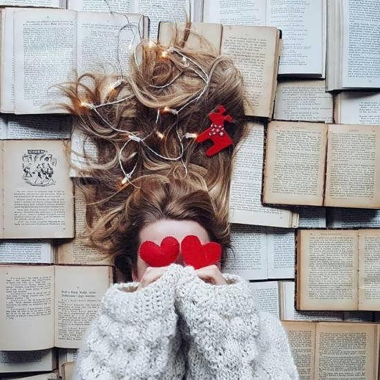 ایده هایی فانتزی از عکس پروفایل کتاب و کتابخوانی