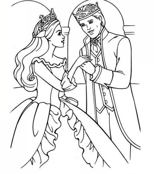 رنگ آمیزی خلاقانه عروس