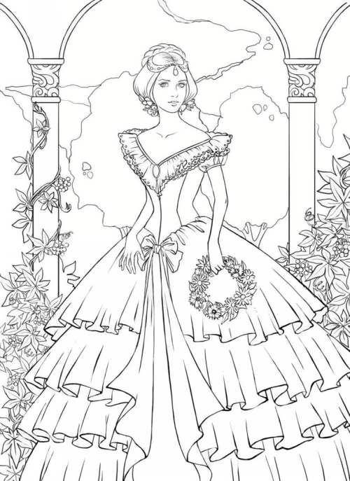 رنگ آمیزی زیبا و متفاوت عروس برای کودکان