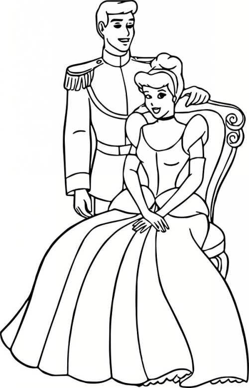 رنگ آمیزی عروس و داماد برای بچه ها