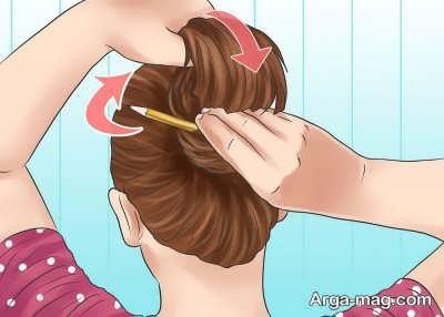بستن مو به کمک روش های جالب