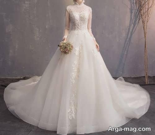 لباس عروس زیبا و پوشیده