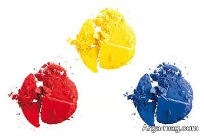 رنگ های اصلی و ثانویه