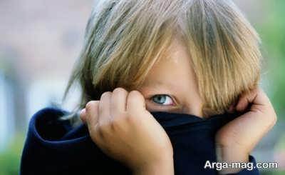 برخورد کردن با کودک حساس